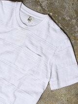 【C.MC】ジャガードクルーネックTシャツ