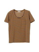 スプレンダーボーダーポケットTシャツ