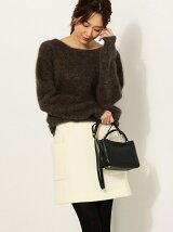 ●JOC 17FW ウール ポケット台形スカート / ミニスカート