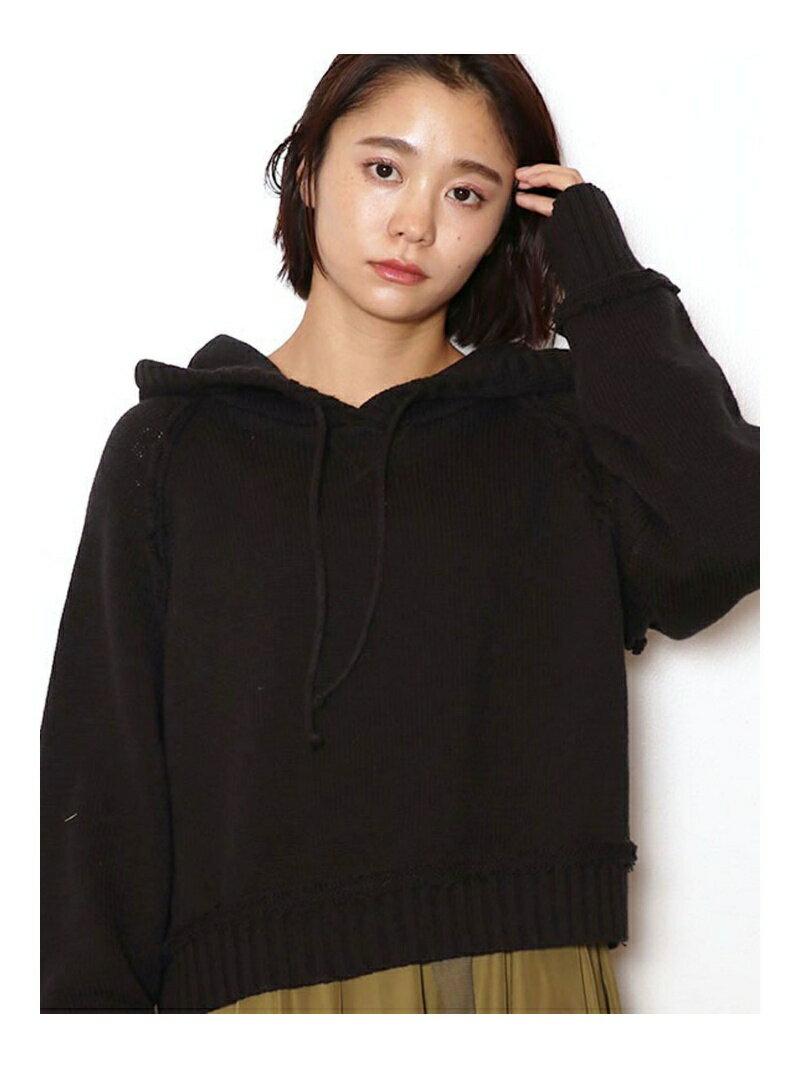 jouetie ニットショートHOODIE ジュエティ ニット【送料無料】