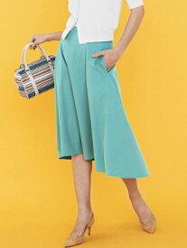 【SALE/70%OFF】Viaggio Blu 【洗濯機可】【3サイズ展開】リプセツイルフレアスカート ビアッジョブルー スカート スカートその他 グリーン ピンク イエロー【送料無料】