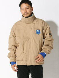 BEAMS MEN COLUMBIA × BEAMS / 別注 Bugaboo 1986 Interchange Jacket ビームス メン コート/ジャケット マウンテンパーカー ベージュ ネイビー【送料無料】