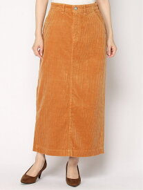 【SALE/50%OFF】YANUK YANUKWomen's/(W)バックベンツコーデュロイロングスカート ディヴィニーク スカート ロングスカート ブラウン パープル グレー【送料無料】