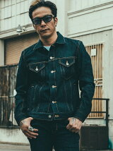 BORN FREE STRETCH SELVAGE DENIM JACKET