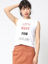 LETS HAVE FUN TODAYニット