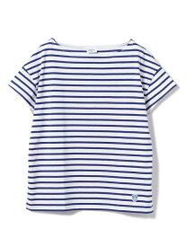Ray BEAMS ORCIVAL / ボーダー Tシャツ レイ ビームス Ray BEAMS オーシバル ビームス ウイメン カットソー Tシャツ ブルー ブラウン グレー ネイビー グリーン パープル イエロー【送料無料】