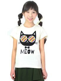 【SALE/50%OFF】unica MEOW Tシャツ ユニカ カットソー【RBA_S】【RBA_E】