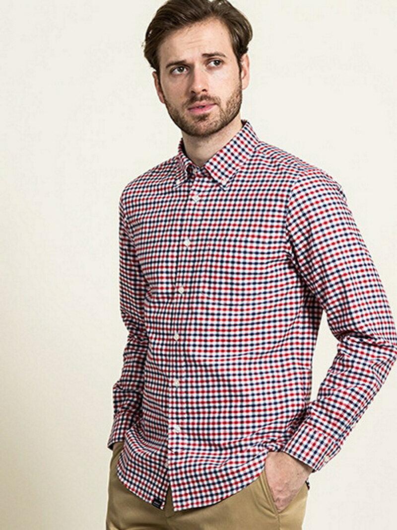 【SALE/30%OFF】AIGLE ギンガムチェックBDシャツ エーグル シャツ/ブラウス【RBA_S】【RBA_E】【送料無料】