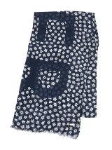 (W)フラワースカーフ