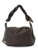 TWIST HANDLE SHOULDER BAG