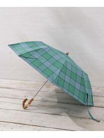 TRADITIONAL WEATHERWEAR 晴雨兼用傘FLDNGBAMBGLD ナノユニバース その他 その他 グリーン オレンジ【送料無料】