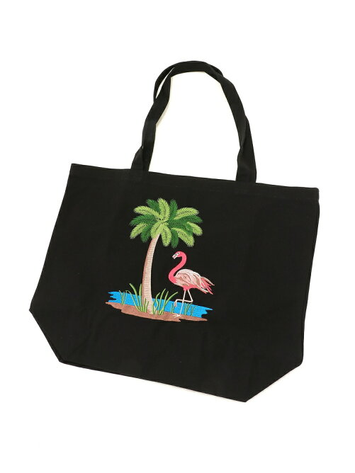 FLAMINGO&TREE BAG