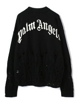 PalmAngels/パームエンジェルス/DISTRESSED FLAMES SWEATER