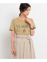 U.S BODYロゴプリントTシャツ