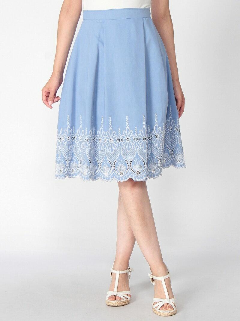 【SALE/57%OFF】PATTERN fiona 刺しゅうカラースカート パターン・フィオナ スカート【RBA_S】【RBA_E】