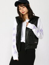 ZIP-UP LEATHER VEST