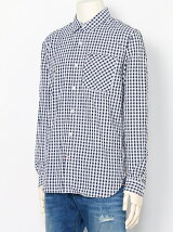 (M)コットンギンガムチェックシャツ