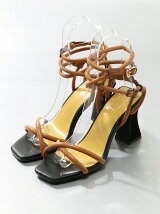 CROSS TUBE HEEL SANDAL