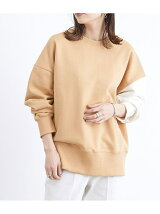 【dartelier】BICOLOR SWEAT SHIRT