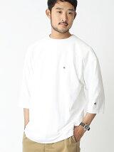 CHAMPION × BEAMS / 別注 ルーズフィット フットボールTシャツ