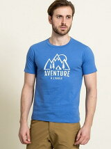 (M)吸水速乾 コーデュラーマウンテンTシャツ