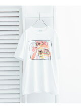 【別注】LeftyArt×URBAN RESEARCH t-shirts hamburger