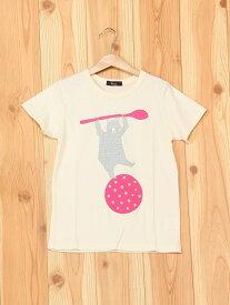 【SALE/60%OFF】unica スプーンとクマTシャツ ユニカ カットソー【RBA_S】【RBA_E】