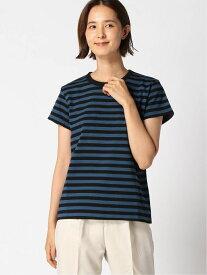 agnes b. FEMME agnes b. FEMME/(W)J008 Tシャツ アニエスベー カットソー Tシャツ ブルー カーキ【送料無料】