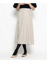 キュプラサテンラップ風スカート