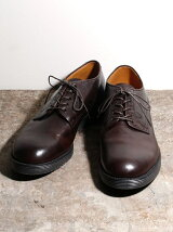 COW LEATHER AIR CUSION OXFORD PLANE TOE
