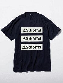 【SALE/30%OFF】Schoffel T-shirt NIGEL2 ショッフェル カットソー Tシャツ ネイビー ブラック ホワイト グレー