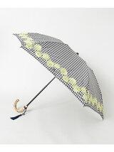 Saison Tourne Umbrella シェル刺繍折傘