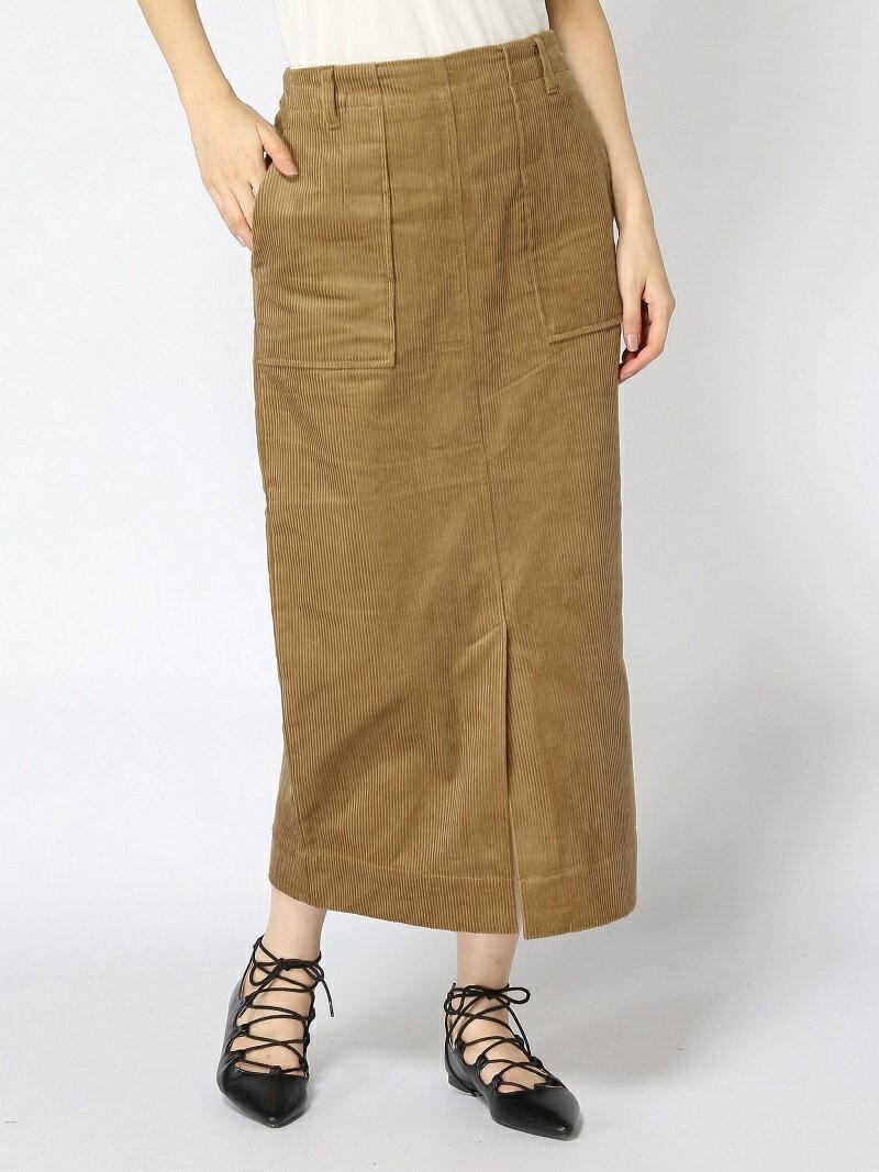 GLOBAL WORK (W)コーデュロイタイトスカート グローバルワーク スカート【送料無料】