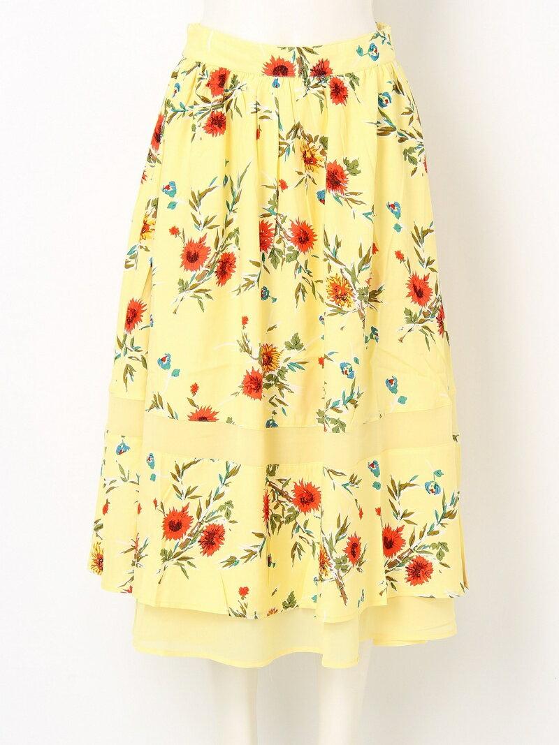 【SALE/20%OFF】BETTY S FLOWER FLARE LONG SK スライ スカート【RBA_S】【RBA_E】【送料無料】