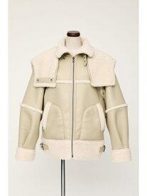 SLY REVERSIBLE HOODED B-3 スライ コート/ジャケット ブルゾン ホワイト ブラック イエロー カーキ【送料無料】