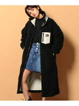 TOMMY JEANS/(W)TOMMY HILFIGER(トミーヒルフィガー) リバーシブルシェルパコート