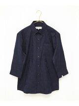 [VJS1211]シャドーカモ BD 7分袖シャツ