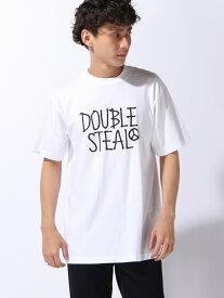 【SALE/30%OFF】FREE HAND LOGO Tシャツ ダブルスティール カットソー【RBA_S】【RBA_E】