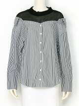 レイヤード風シャツ