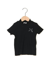 【SALE/47%OFF】TCテレコリボン付Tシャツ ベベ オンライン ストア カットソー【RBA_S】【RBA_E】