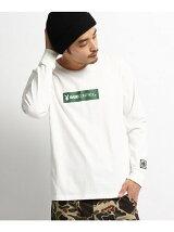 PLAYBOY/プレイボーイ別注 BOXロゴ長袖Tシャツ