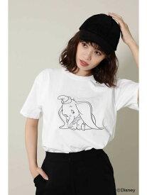 【SALE/40%OFF】ROSE BUD JERZEESディズニーキャラクターTシャツ ローズバッド カットソー Tシャツ ホワイト グリーン オレンジ