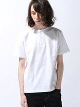 (M)NAVAL Select/ヘビーウエイトヘンリーネック半袖Tシャツ