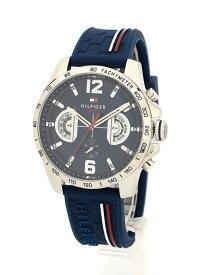 TOMMY HILFIGER (M)LIC WATCH 腕時計 トミーヒルフィガー ファッショングッズ 腕時計 ネイビー【送料無料】