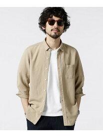 nano・universe Herdman Linenシャツ 7S ナノユニバース シャツ/ブラウス【送料無料】