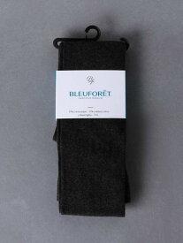 UNITED ARROWS <BLEUFORET(ブルーフォレ)>コットンタイツ ユナイテッドアローズ ファッショングッズ タイツ/レギンス グレー ブラック