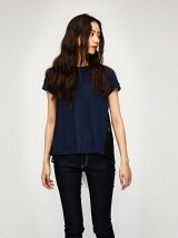 BACK LAYERED LACE TEE