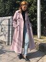 UNRELISH ゆるロングトレンチコート アンレリッシュ コート/ジャケット【送料無料】