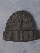 <KIJIMA TAKAYUKI(キジマ タカユキ)> WO/CT KNIT CAP