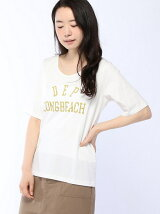 LONG BEACH-ロゴTシャツ